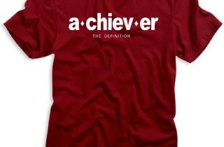 Achiever t shirt