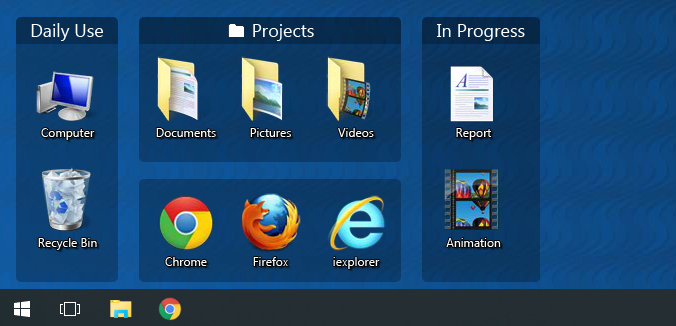 Clear your Desktop and Gain Control of your Computer